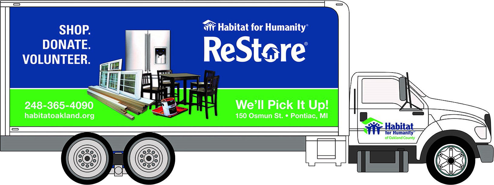 Habitat for Humantiy - ReStore Box Truck - Orange County