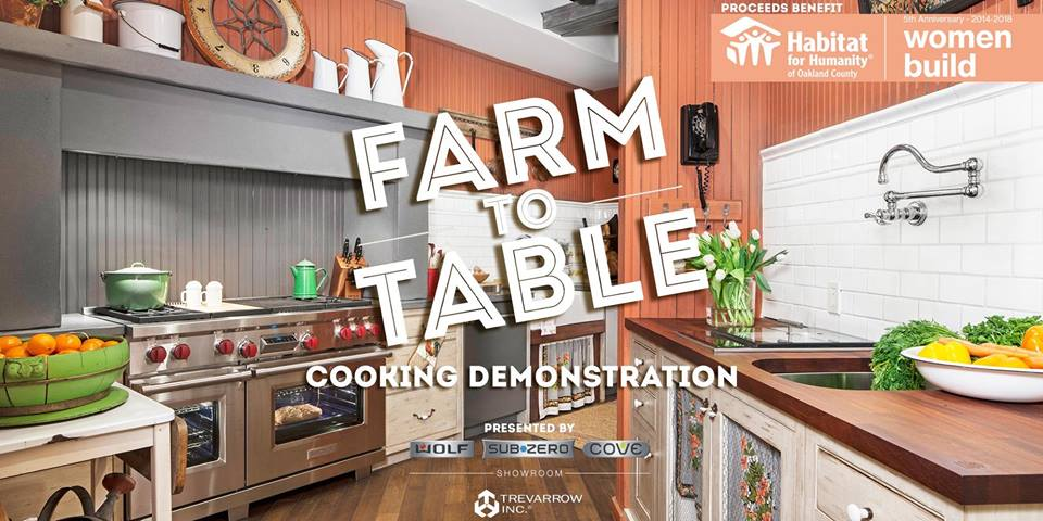 Trevarrow Farm to Table Cooking Demonstration