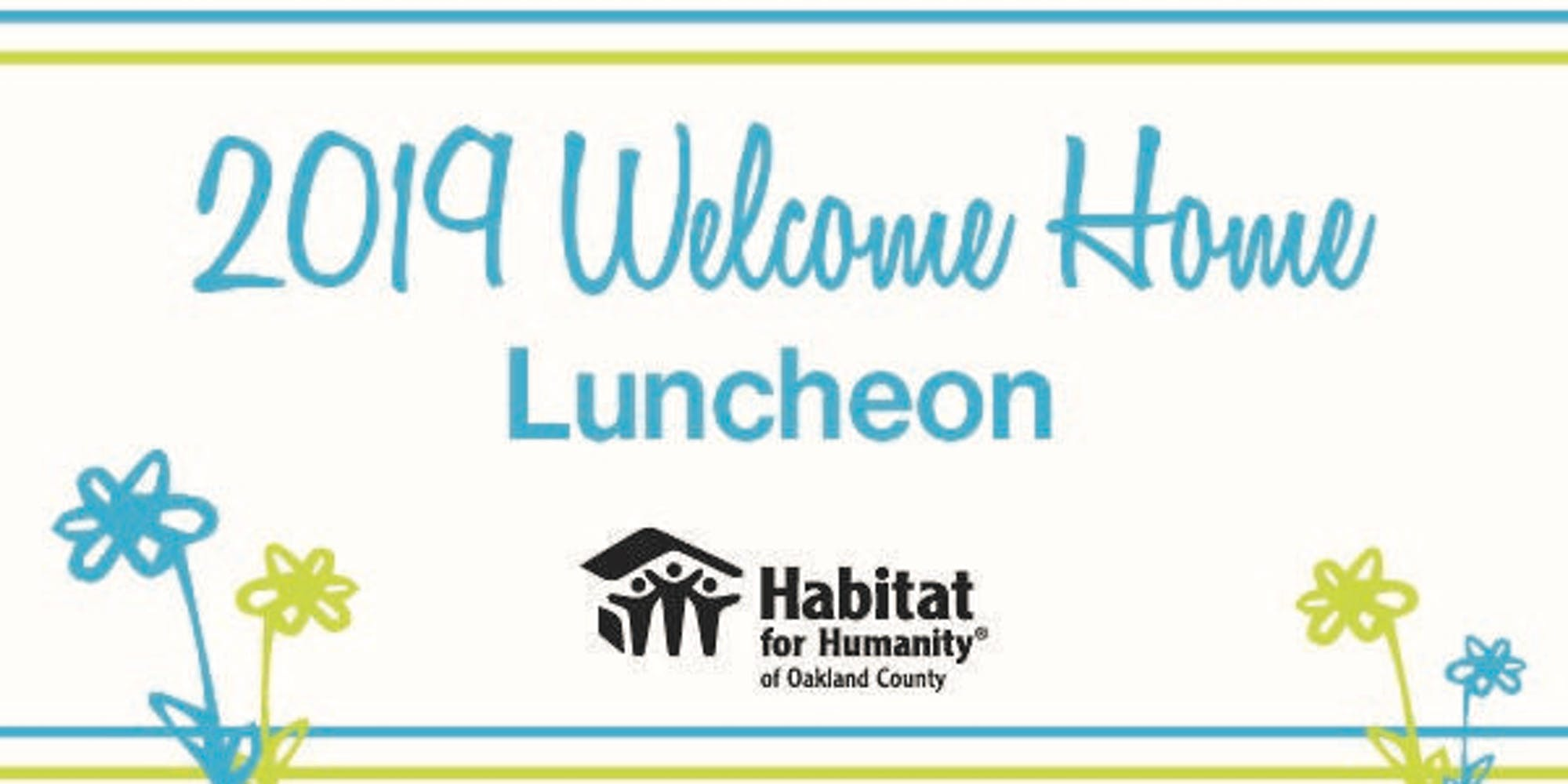 6th Annual Habitat Oakland Women Build Welcome Home Luncheon