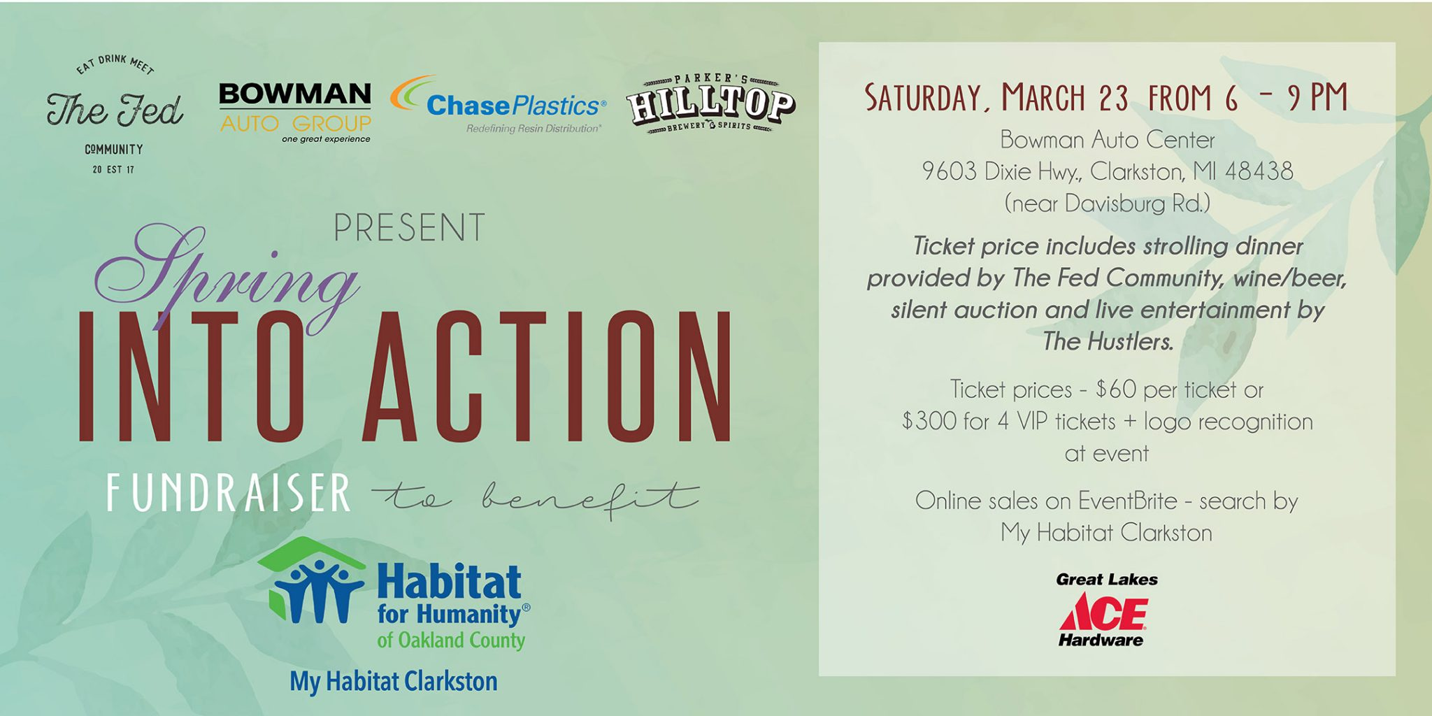 My Habitat Clarkston – Spring into Action 2019