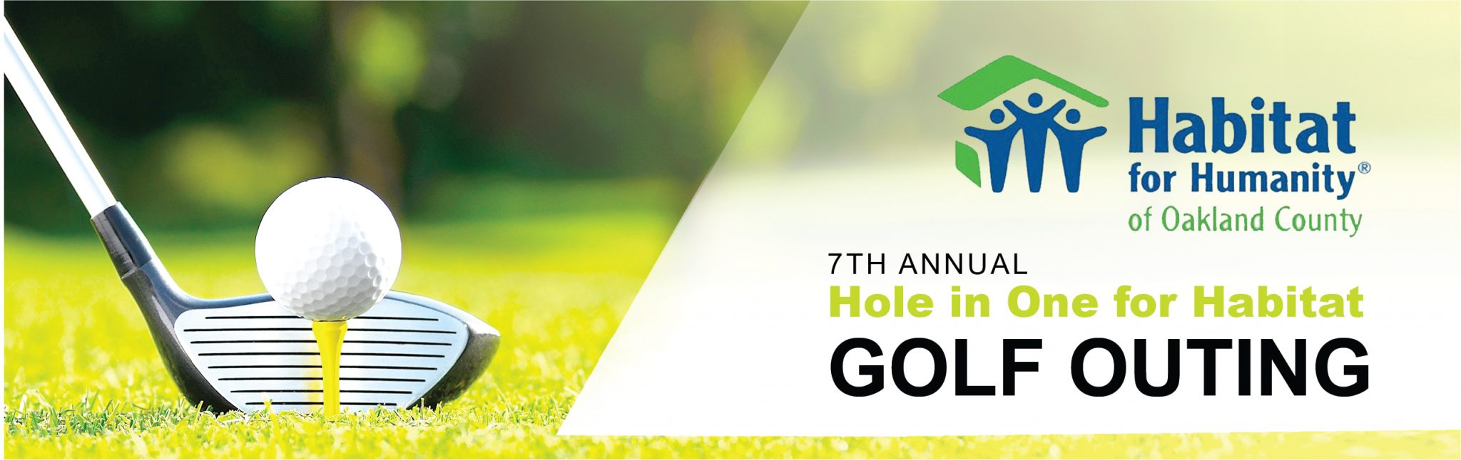 7th Annual Hole in One for Habitat Golf Outing