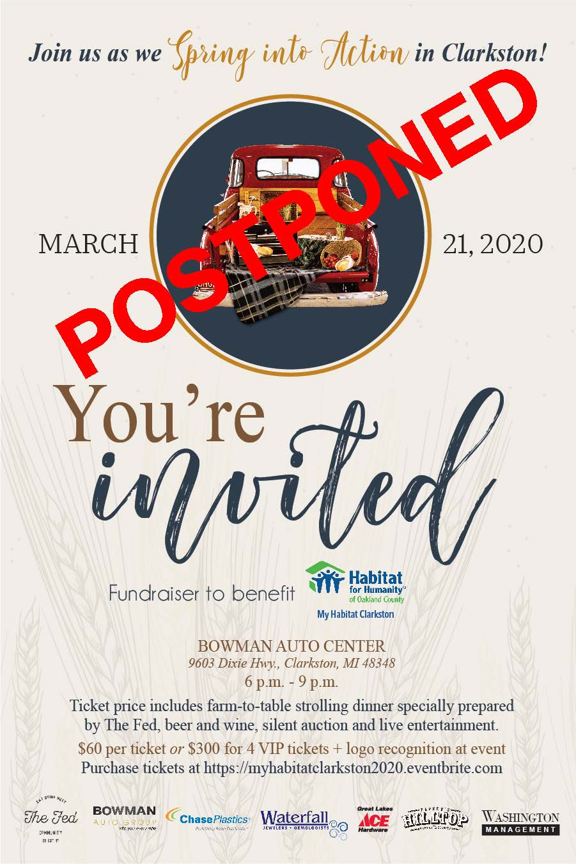 My Habitat Clarkston: Spring into Action Fundraiser