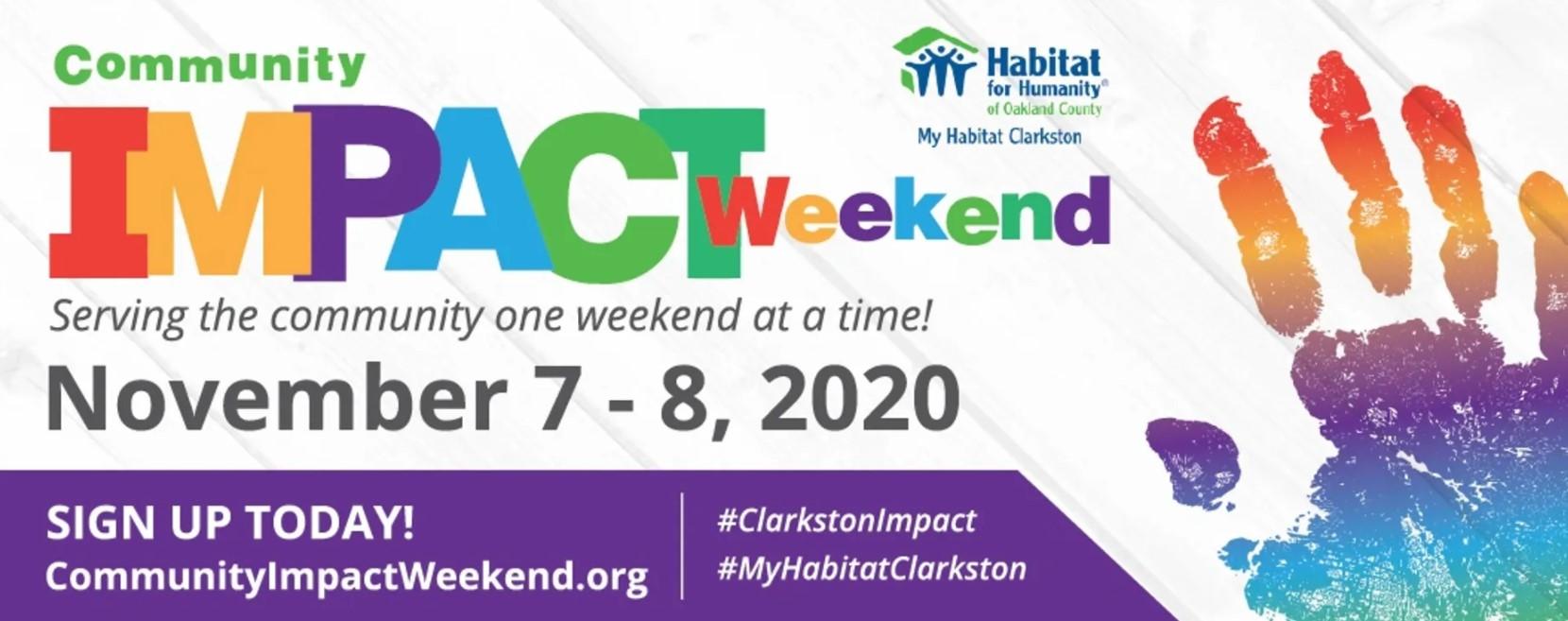 My Habitat Clarkston Community Impact Weekend