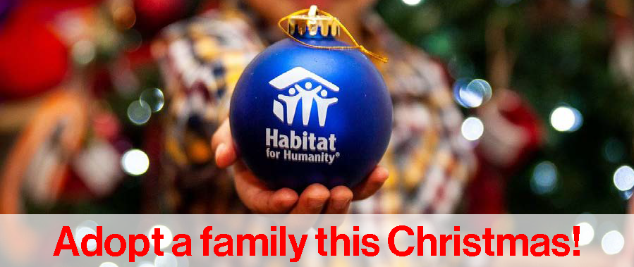 Habitat Christmas Adopt-a-Family Program